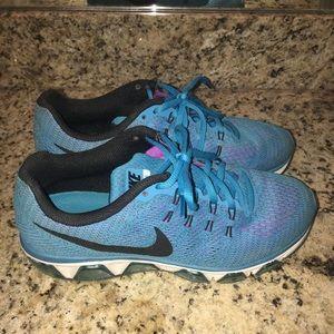 Women's Nike AirMax tailwind turquoise size 8.5